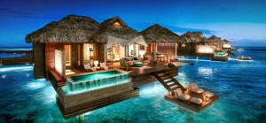 Sandals All Inclusive wedding honeymoon destination wedding